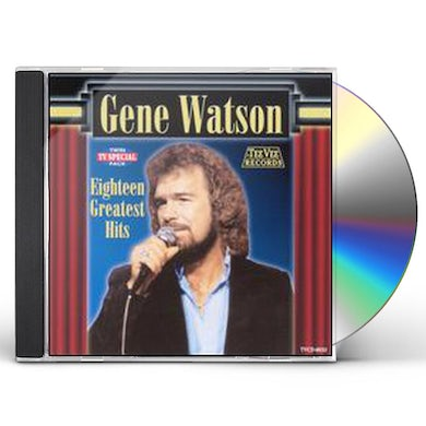 Gene Watson 18 GREATEST HITS CD