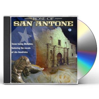 Jim Hendricks ROSE OF SAN ANTONE: CLASSIC TEXAS SWING MELODIES CD