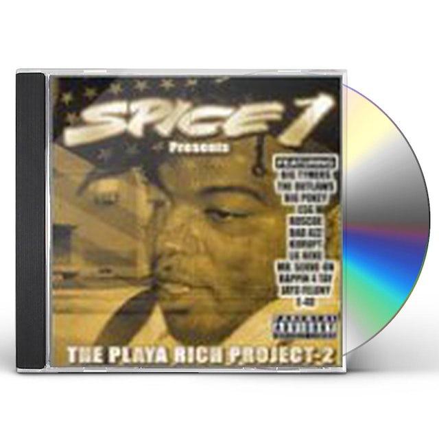 Spice 1 PLAYA RICH PROJECT 2 CD