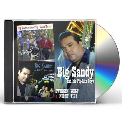 Big Sandy & His Fly-Rite Boys SWINGING WEST CD