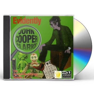 EVIDENTLY JOHN COOPER CLARKE 2 CD