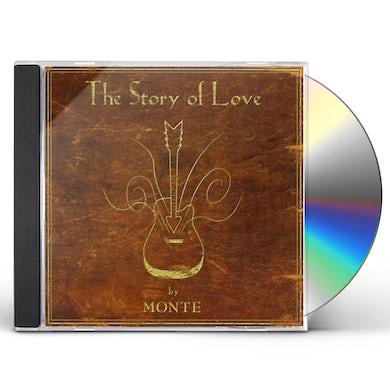 Monte Montgomery STORY OF LOVE CD