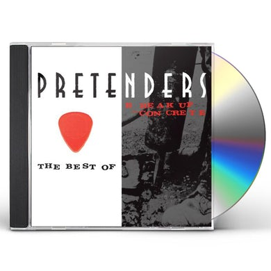 The Pretenders BEST OF / BREAK UP THE CONCRETE CD