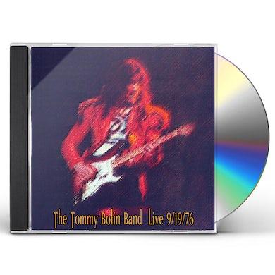 Tommy Bolin LIVE 9-19-76 (MOD) CD