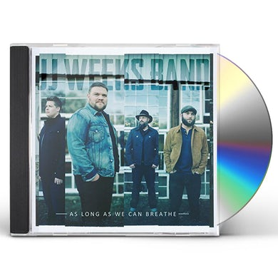 JJ Weeks Band AS LONG AS WE CAN BREATHE CD