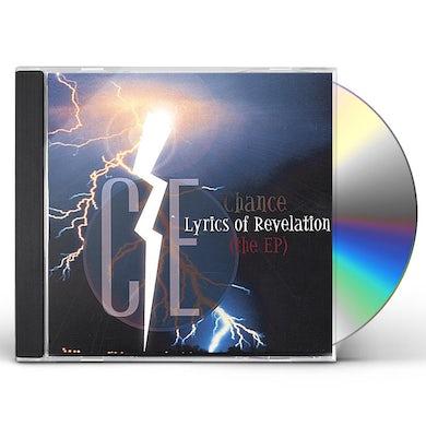Chance LYRICS OF REVELATION-EP CD
