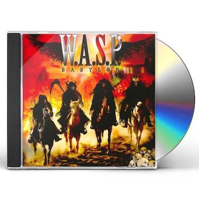 W.A.S.P BABYLON CD
