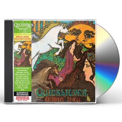 Quicksilver Messenger Service COMIN THRU CD