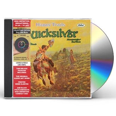 Quicksilver HAPPY TRAILS CD