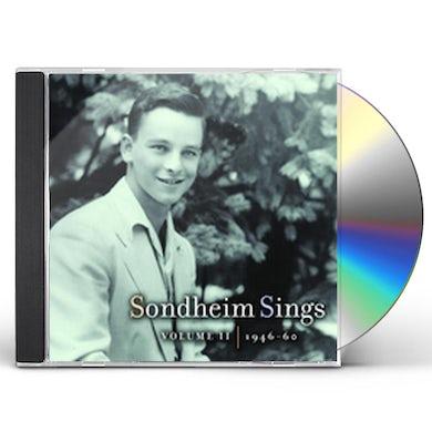 SONDHEIM SINGS 2: 1946-1960 CD