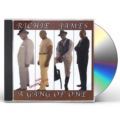 Richard James GANG OF ONE CD