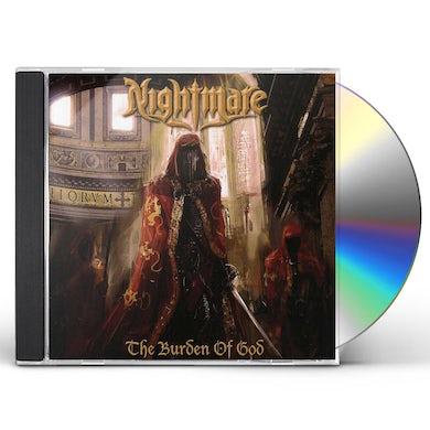 Nightmare BURDEN OF GOD CD