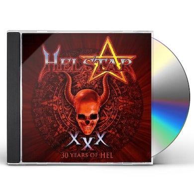 Helstar 30 YEARS OF HEL CD