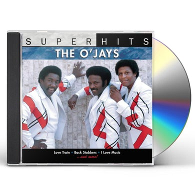 The O'Jays SUPER HITS CD