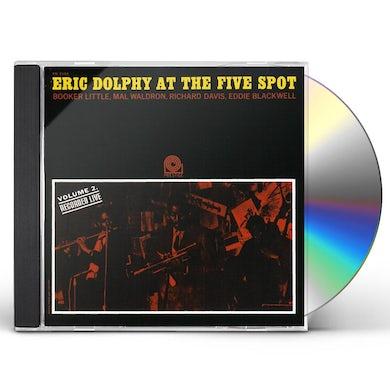 Eric Dolphy AT THE FIVE SPOT 2: RUDY VAN GELDER SERIES CD