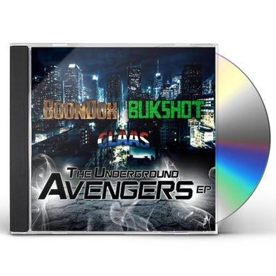 Boondox UNDERGROUND AVENGERS CD