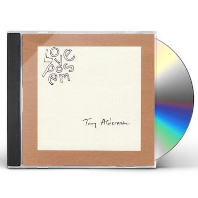 Tony Alderman LOVE POEMS CD