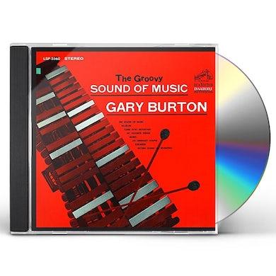 Gary Burton GROOVY SOUND OF MUSIC CD