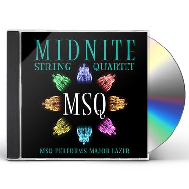 Midnite String Quartet MSQ PERFORMS MAJOR LAZER (MOD) CD