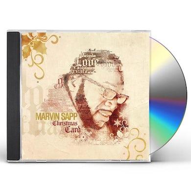 Marvin Sapp CHRISTMAS CARD CD