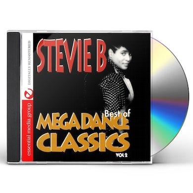 Stevie B. MEGA DANCE CLASSICS VOL. 2 CD