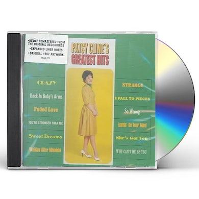 Patsy Cline GREATEST HITS CD