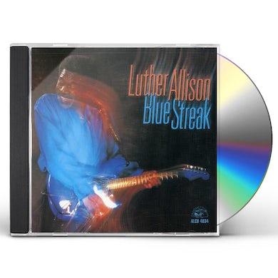 Luther Allison BLUE STREAK CD