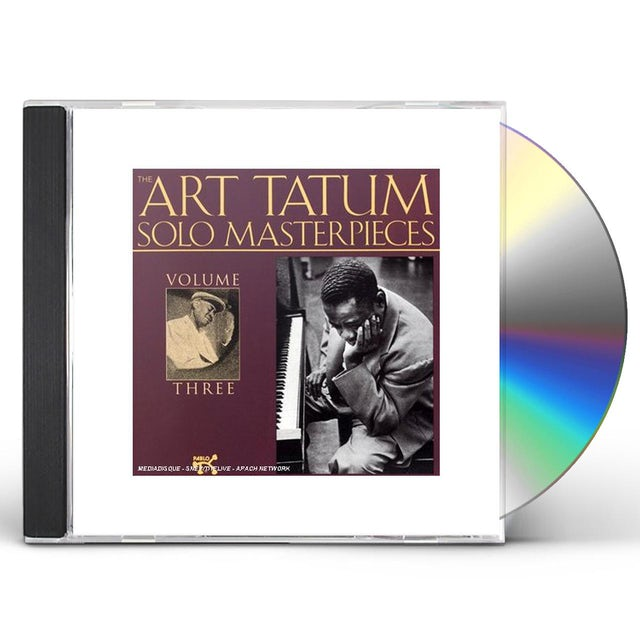 Art Tatum SOLO MASTERPIECES 3 CD