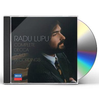 Radu Lupu COMPLETE DECCA SOLO RECORDINGS CD