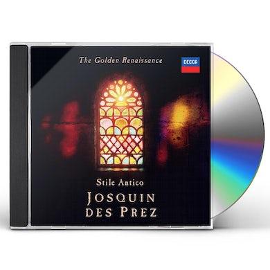 GOLDEN RENAISSANCE: JOSQUIN DES PREZ CD
