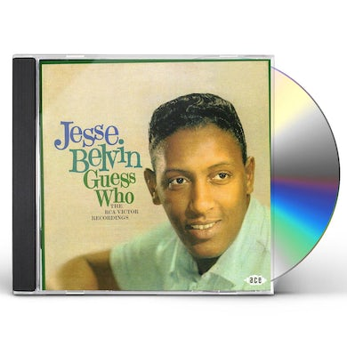 Jesse Belvin GUESS WHO CD