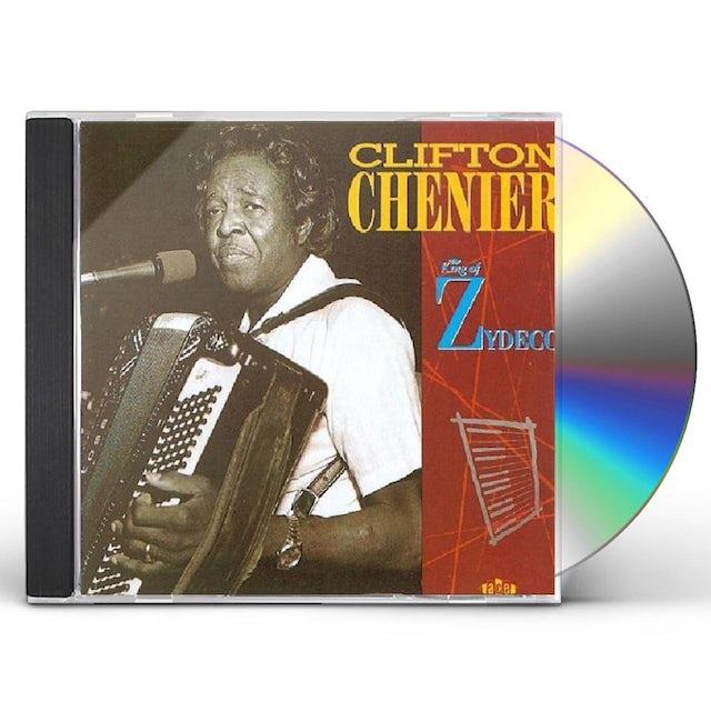 Clifton Chenier KING OF ZYDECO CD