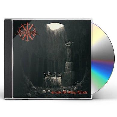 Sicarius SERENADE OF SLITTING THROATS CD