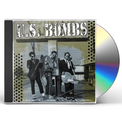 Us Bombs BACK AT THE LAUNDROMAT CD