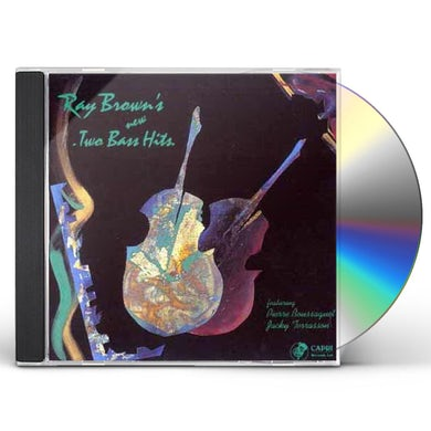 Ray Brown NEW TWO BASS HITS CD