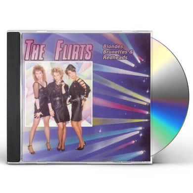 Flirts BLONDES BRUNETTES & REDHEADS CD