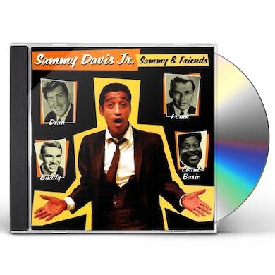 Sammy Davis Jr SAMMY & FRIENDS CD
