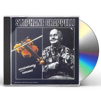 Stephane Grappelli ANNIVERSARY CONCERT CD