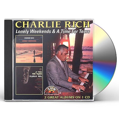 Charlie Rich LONELY WEEKENDS / TIME FOR TEARS CD