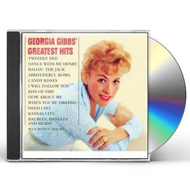 Georgia Gibbs GREATEST HITS CD