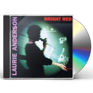 Laurie Anderson BRIGHT RED CD