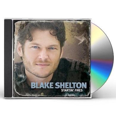 Blake Shelton STARTIN FIRES CD