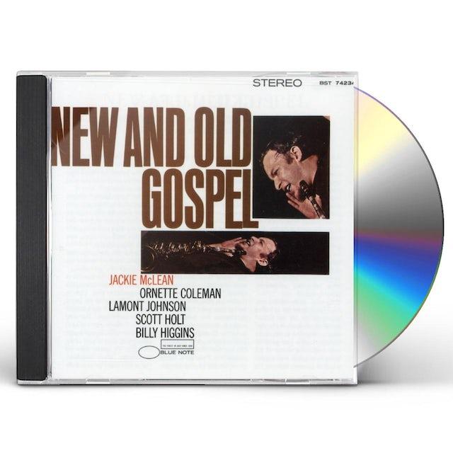 Jackie Mclean NEW & OLD GOSPEL CD