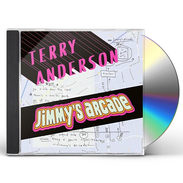 Terry Anderson JIMMY'S ARCADE CD
