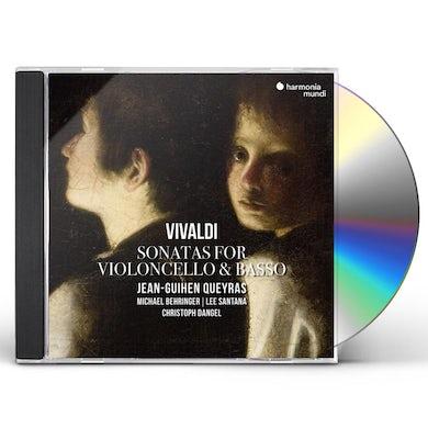 Jean-Guihen Queyras VIVALDI: SONATAS FOR CELLO & BASSO CONTINUO CD