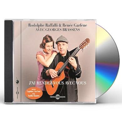 Georges Brassens J'AI RENDEZ VOUS AVEC VOUS CD