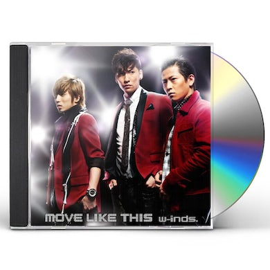 W-Inds MOVE LIKE THIS CD