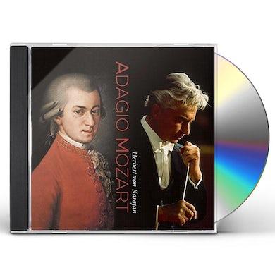 Herbert Von Karajan ADAGIO MOZART CD