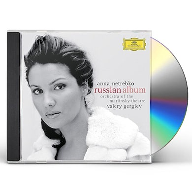 Anna Netrebko RUSSIAN ALBUM: LIMITED CD