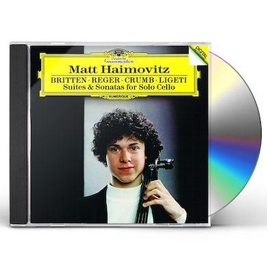 Matt Haimovitz BRITTEN / REGER / CRUMB / LIGETI: SUITES & SONATAS CD